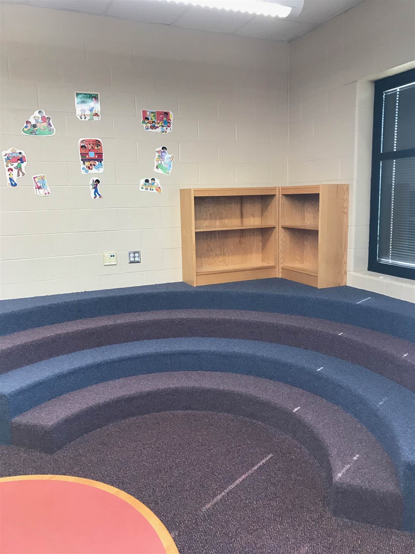 New Carpet for the Reading Center in the Library