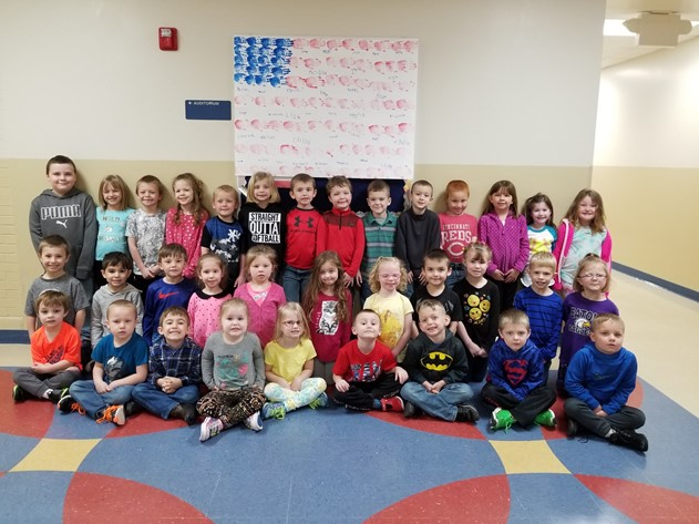 Wee Patriots PreSchool salute to Kenton Stacy #stacystrong.